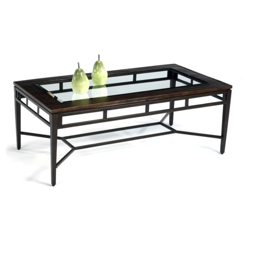 Flexsteel Symphony Rectangular Cocktail / Coffee Table
