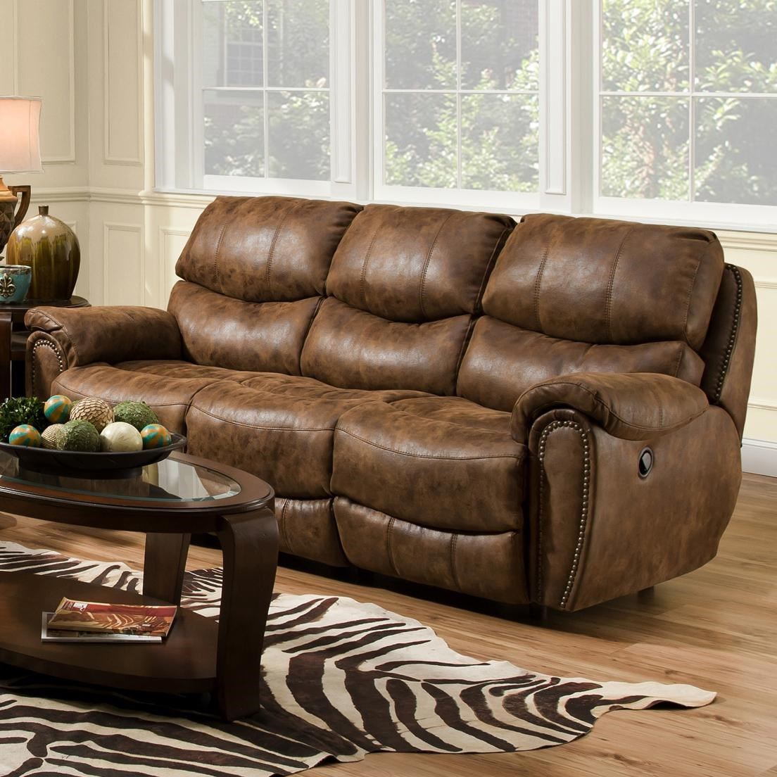 Home > Living Room Furniture > Reclining Sofa > Franklin Richmond ...