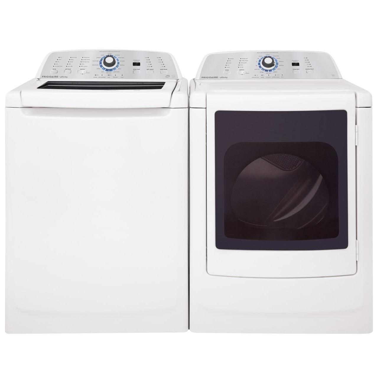 frigidaire washer and dryer set energy star 34 cu ft topload