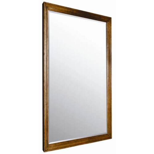 Guy Chaddock Melrose Custom Handmade Furniture Country English Frame with Beveled Wall Mirror