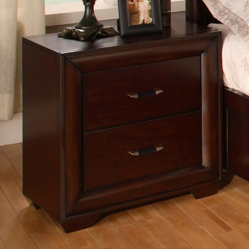 Hamilton & Spill Fairfield  Contemporary Night Stand