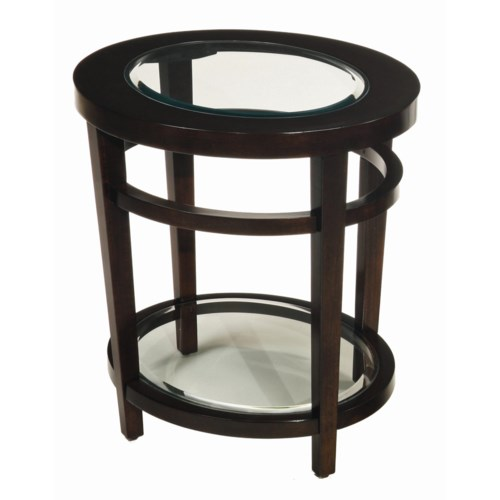 Hammary Urbana Oval End Table