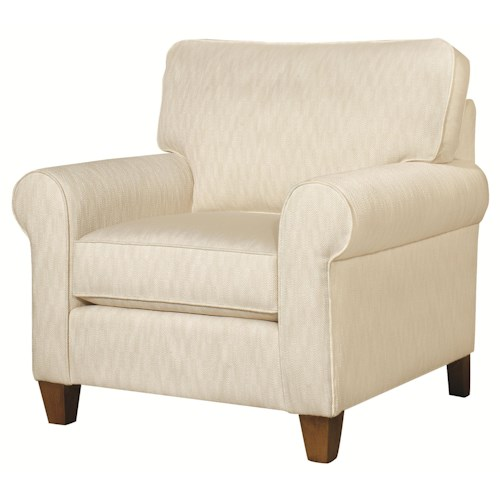HGTV Home Furniture Collection Greenwich  Casual Styled Greenwich Chair