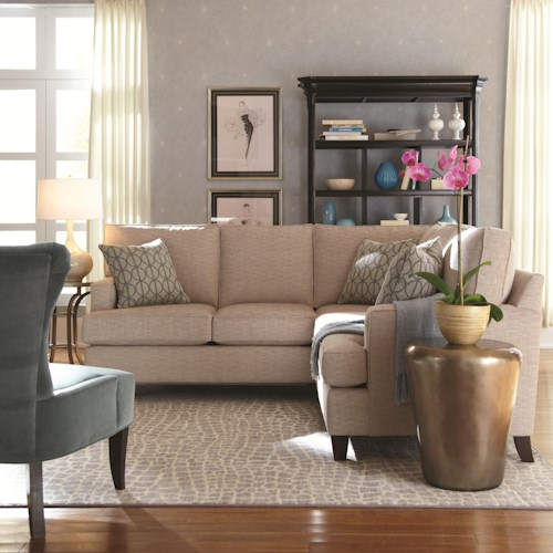 HGTV Home Furniture Collection Park Avenue Contemporary Styled Park Avenue 2 Piece Sectional
