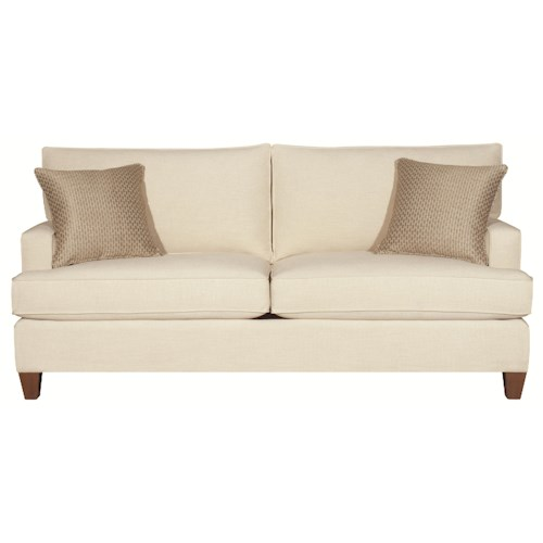 HGTV Home Furniture Collection Park Avenue Contemporary Styled Park Avenue Queen Sleeper (two cushions)