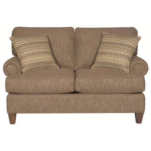 HGTV Home Furniture Collection Sutherland Traditional Styled Sutherland Loveseat
