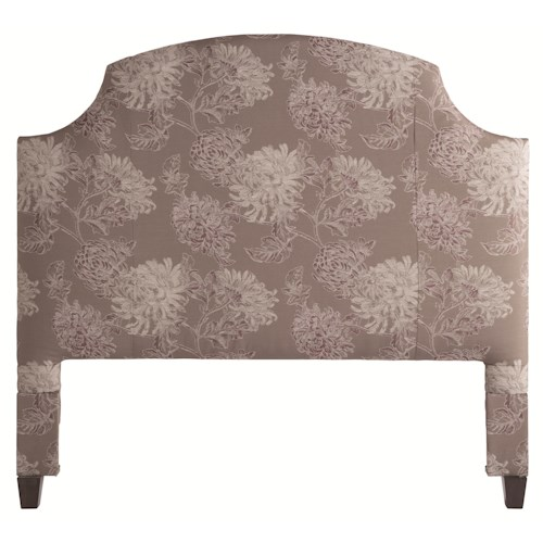 HGTV Home Furniture Collection Upholstery  Newport King Size Headboard with Shabby Chic Bedroom Charm