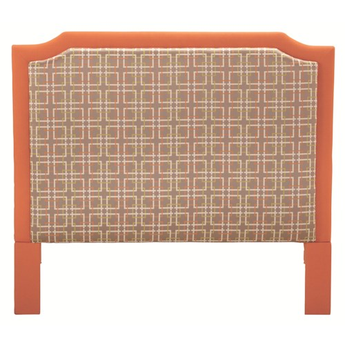 HGTV Home Furniture Collection Upholstery  La Jolla King Size Headboard