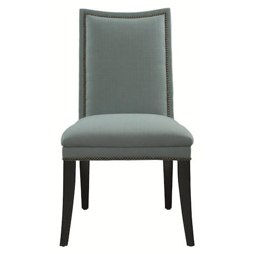 HGTV Home Furniture Collection Upholstery  Caravan Side Chair for Dining Rooms