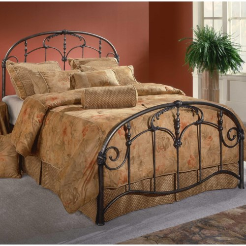 Hillsdale Metal Beds King Jacqueline Bed