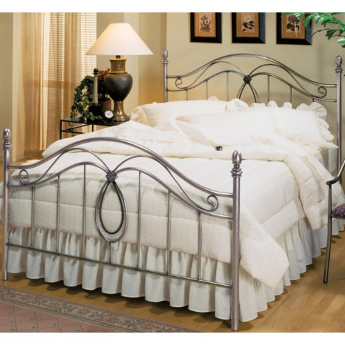 Hillsdale Metal Beds Full Milano Bed
