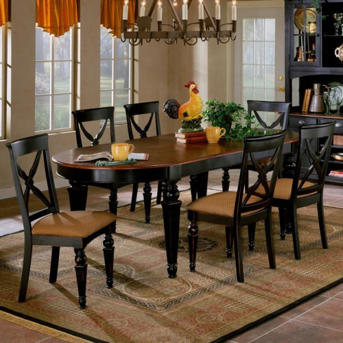 Hillsdale Northern Heights Seven Piece Dining Set