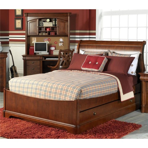 Holland House Petite Louis Twin Sleigh Bed