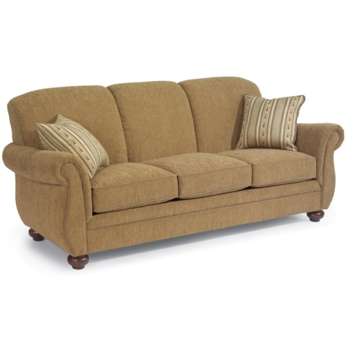 Flexsteel Vail Sofa Review: Flexsteel Winston Three-Seat Stationary Sofa