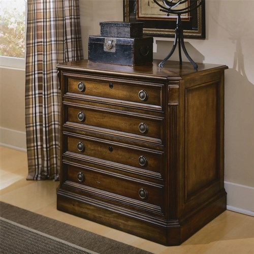 Hooker Furniture Brookhaven Two Drawer Lateral File Cabinet