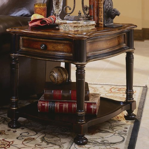 Hooker Furniture Preston Ridge One Drawer End Table