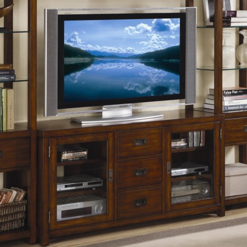 Hooker Furniture Danforth Entertainment Console