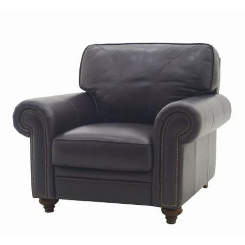 HTL 2092 Upholstered Accent Chair With Nail Head Trim