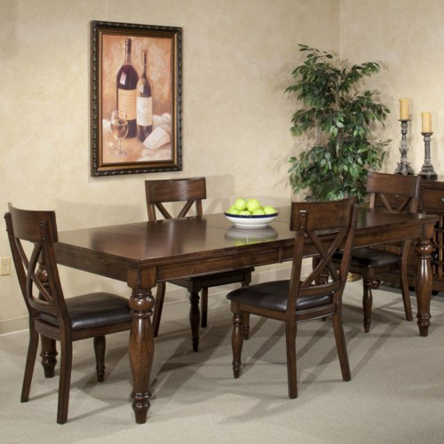 Intercon Kingston  Five Piece Table and Chair Set