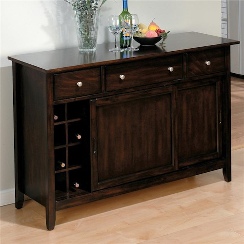 Jofran bakery 39 s cherry dining server jofran - Servers for dining room ...