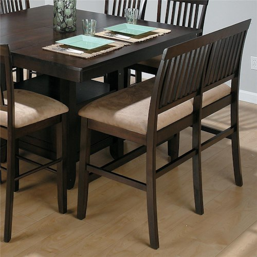 tufted leg and upholstered plus black seats bench have seating furniture with counter cozy marvelous a grey backs dark seat morning back breakfast wooden height the dining