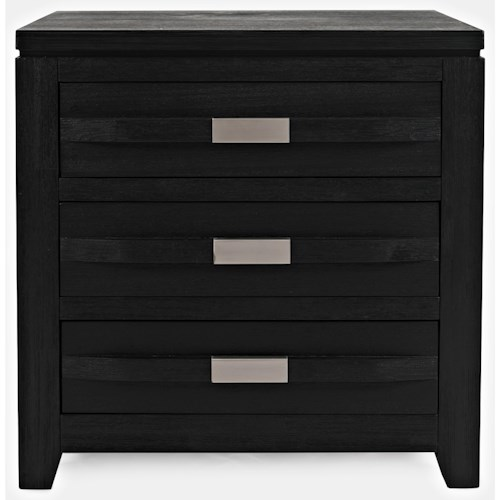 Jofran Altamonte 3 Drawer Power Nightstand