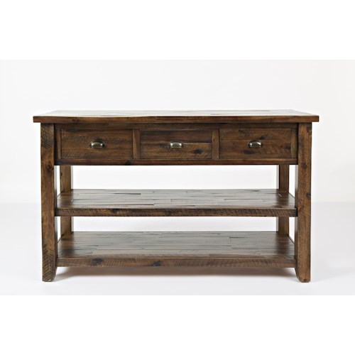 Jofran Artisan's Craft Sofa Table