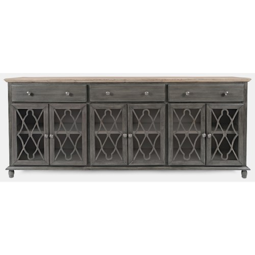Jofran Aurora Hills 6-Door Accent Chest