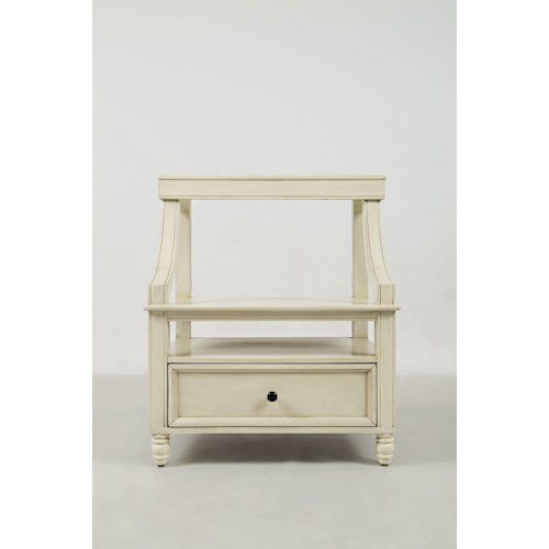 Jofran Avignon Youth Step Up Nightstand