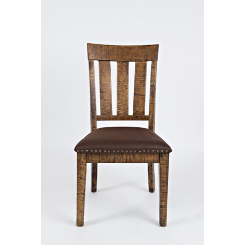 Jofran Cannon Valley Chair with Upholstered Seat