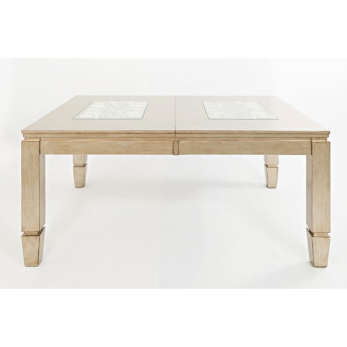 Jofran Casa Bella Rectangle Dining Table with Extension Leaf