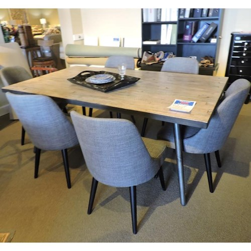 Jofran Clearance Dining Table w/ 6 Chairs - Jofran