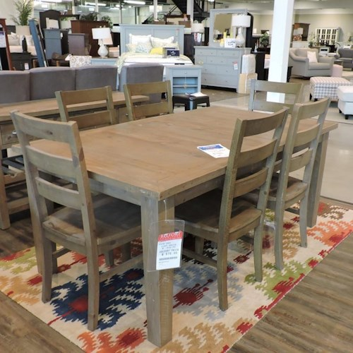 Jofran Clearance Dining Table + 6 Chairs - Jofran