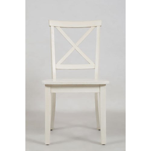 Jofran Everyday Classics X Back Dining Chair