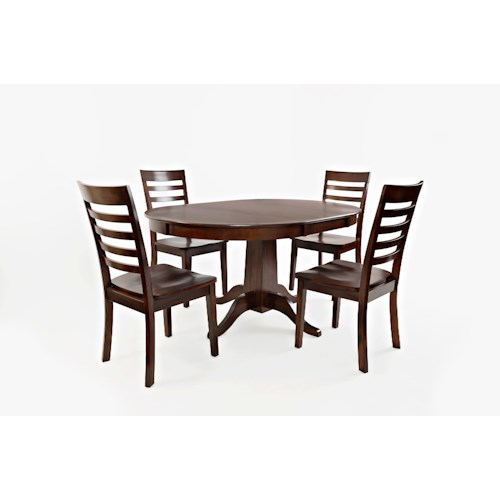 Jofran Everyday Classics Kitchen Table and 4 Chair Set