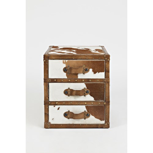 Jofran Global Archive Hair-on-Hide Accent Chest
