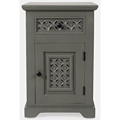 Jofran Global Archive Decker Cabinet Accent Table