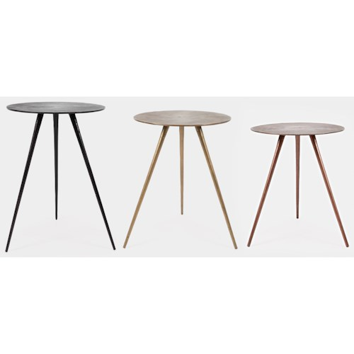 Jofran Global Archive 3PC Carly Accent Table Set
