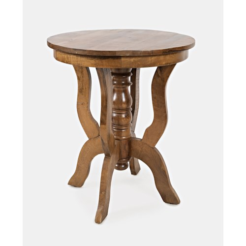 Jofran Global Archive Round Accent Table
