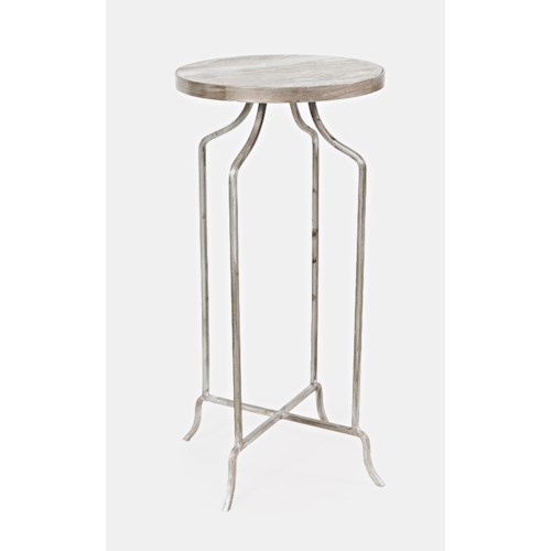 Jofran Global Archive Jamison Round Marble Accent Table
