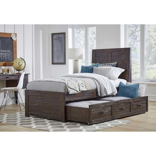 Jofran Jackson Lodge Twin Panel Bed