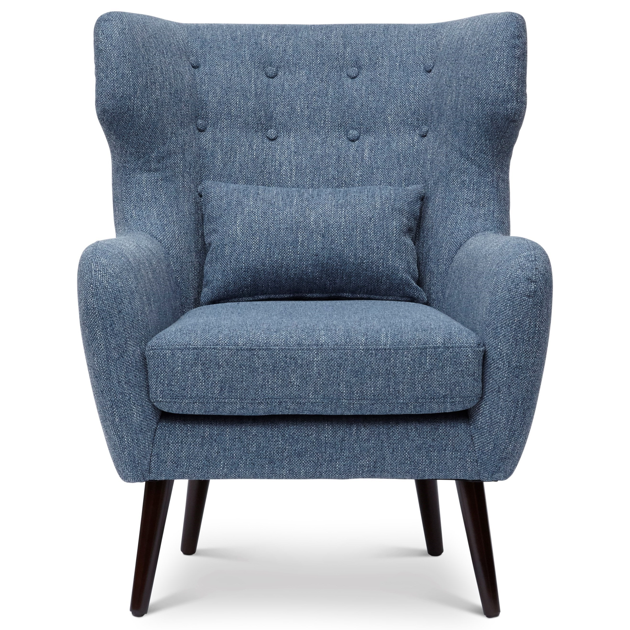 Jofran Accent Chairs Ava Mid Century Modern Accent Chair
