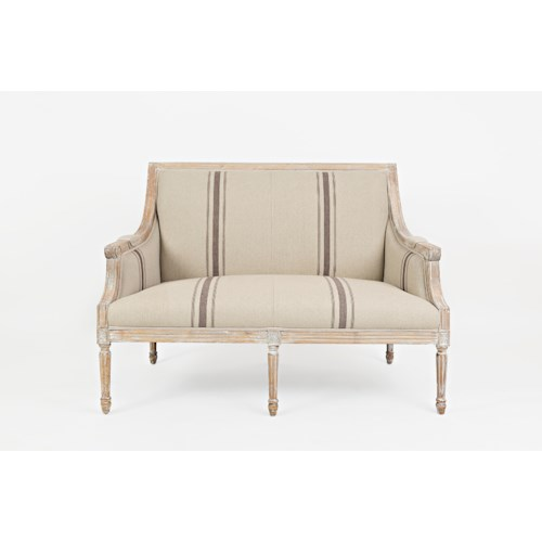 Jofran Accent Chairs McKenna Loveseat