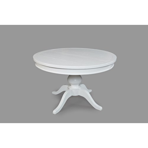 Jofran Madaket Round to Oval - Pedestal Dining Table
