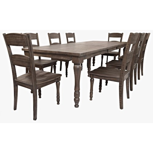 Jofran Madison County Table & 8 Chairs