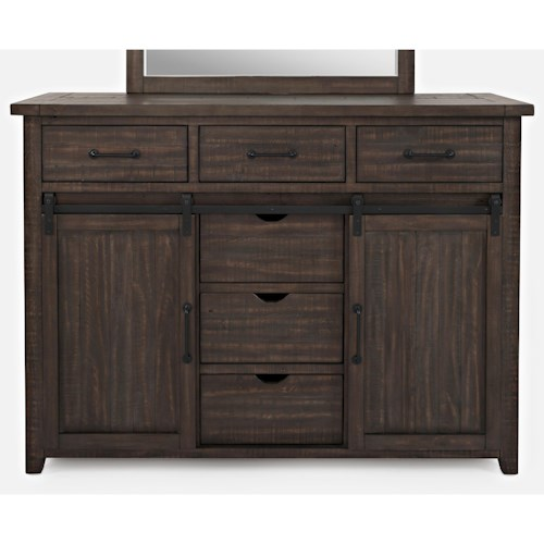 Jofran Madison County Door Dresser
