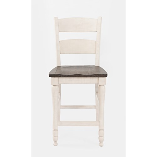 Jofran Madison County Ladderback Counter Stool