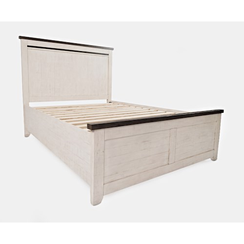 Jofran Madison County King Panel Bed