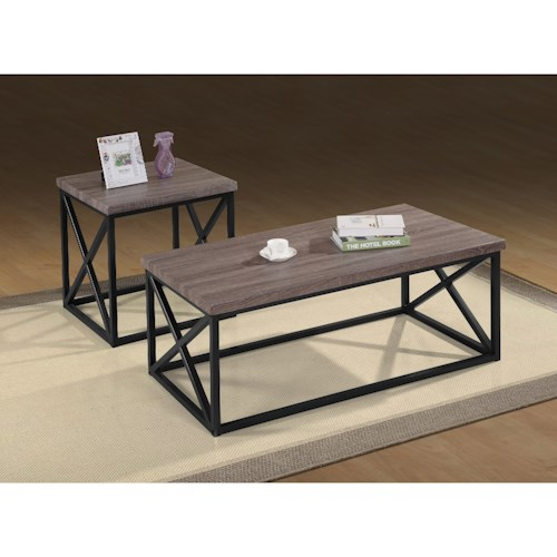Jofran Orion by Jofran Occassional Tables - 3 Pack