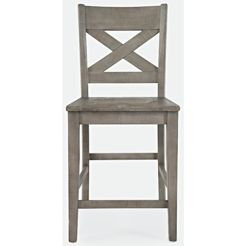 Jofran Outer Banks X-Back Stool